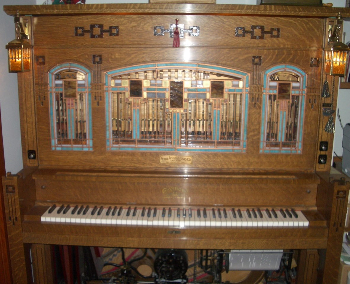 player piano reblitz arthur a